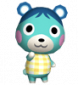 Birte in Animal Crossing: Let's Go to the City