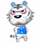 Boris in Animal Crossing: Let's Go to the City
