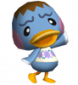 Daune in Animal Crossing: Let's Go to the City