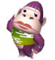 Konga in Animal Crossing: Let's Go to the City