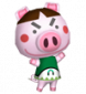Luzie in Animal Crossing: Let's Go to the City