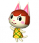 Minka in Animal Crossing: Let's Go to the City