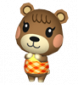 Mona in Animal Crossing: Let's Go to the City