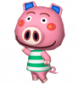 Oink in Animal Crossing: Let's Go to the City