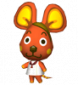 Schoki in Animal Crossing: Let's Go to the City