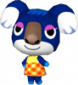 Ute in Animal Crossing: Let's Go to the City