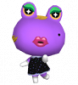 Violetta in Animal Crossing: Let's Go to the City
