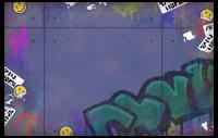 Graffiti-Karte