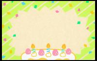 Geburtstagstorten-Karte