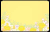 Frühjahrsblüten-Karte