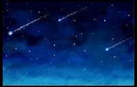Sternschnuppenkarte