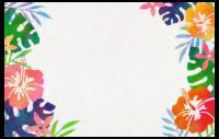 Hibiskus-Karte