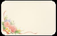 Blumenstraußkarte