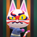 Foto von Kabuki in Animal Crossing: New Horizons