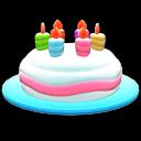 Geburtstagshut [Blau]