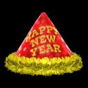 Neujahrshut [Rot]