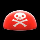 Piratenkopftuch [Rot]