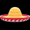Sombrero [Natur-rot]