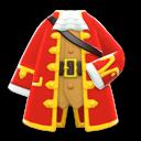 Piratenmantel [Rot]