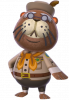 Helios in Animal Crossing: New Leaf