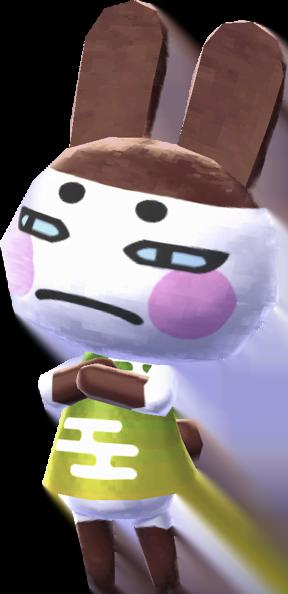 Animal Crossing Happy Home Designer Pudge