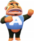 Alfredo in Animal Crossing: New Leaf