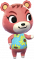 Claudia in Animal Crossing: New Leaf