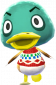 Gustav in Animal Crossing: New Leaf