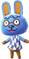 Gustl in Animal Crossing: New Leaf