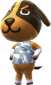 Hasso in Animal Crossing: New Leaf