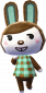 Hilda in Animal Crossing: New Leaf