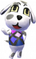 Isolde in Animal Crossing: New Leaf