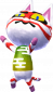 Kabuki in Animal Crossing: New Leaf