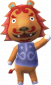Leon in Animal Crossing: New Leaf
