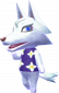 Lupa in Animal Crossing: New Leaf