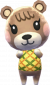 Mona in Animal Crossing: New Leaf