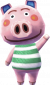 Oink in Animal Crossing: New Leaf