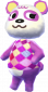 Pia in Animal Crossing: New Leaf
