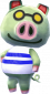 Rolo in Animal Crossing: New Leaf