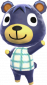 Toni in Animal Crossing: New Leaf