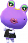 Violetta in Animal Crossing: New Leaf
