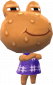 Warzi in Animal Crossing: New Leaf