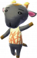 Zenobi in Animal Crossing: New Leaf
