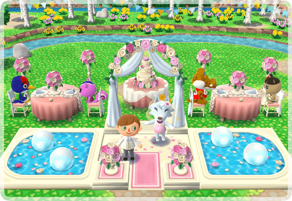 Rosenhochzeit Pocket Camp Animal Crossing Wiki