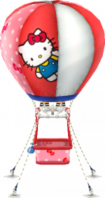 Hello Kitty-Ballon
