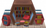 Sechseck-Bibliothek Level 1, 2, 3 + 4