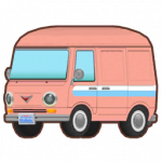 Einfachstreifen Kleinbus