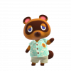 Tom Nook in Animal Crossing: New Horizons