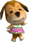 Agnes in Animal Crossing (GC)