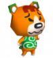 Bertram in Animal Crossing: Wild World